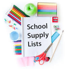 Schol Supply Lists